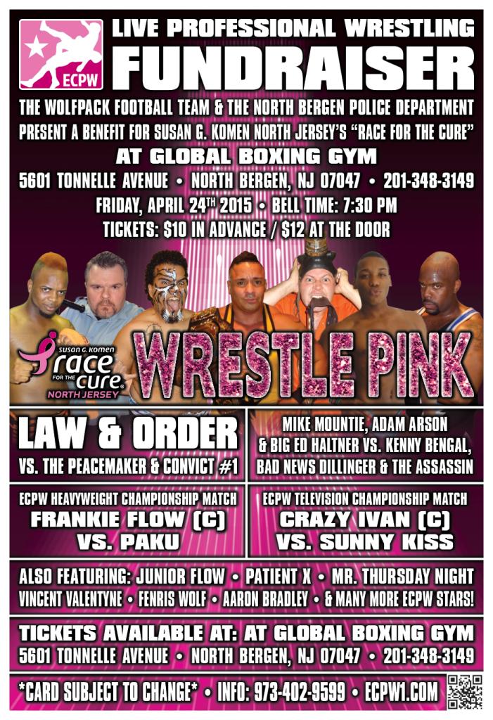 ECPW North Bergen Wrestle Pink April 2015