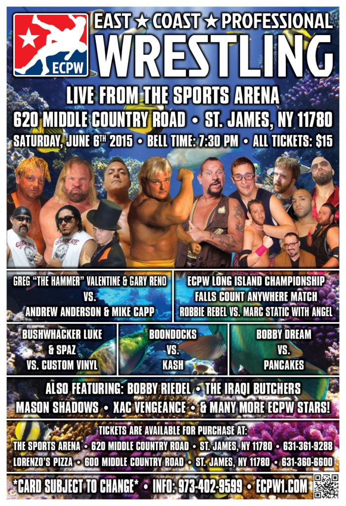 ECPW Long Island June 6th 2015 V2