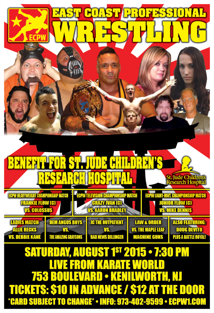 ECPW Kenilworth NJ August 1st 2015 V4